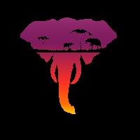 Elefant Afrika Safari Urlaub Geschenk