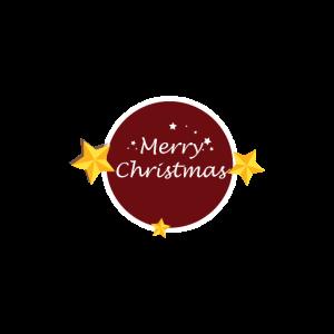 MerryChristmas Schriftzug