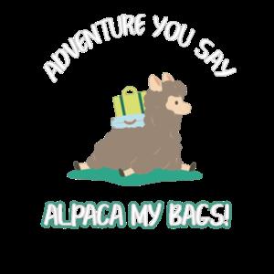 Alpaca my bags Reise Urlaub