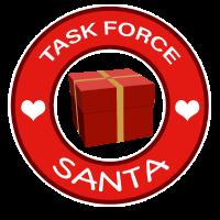 Weihnachtsmann Geschenke Helfer