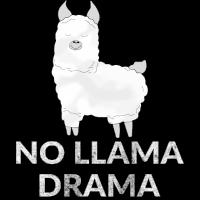 No Llama Drama Lama Alpaka Kinder Tier Geschenk
