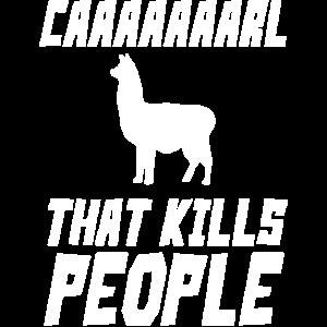 Carl Caaarl Hut LLama Lama Alpaka Kinder Geschenk
