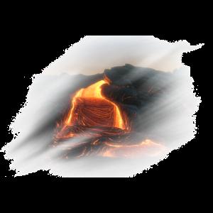Lava Glut Berg Vulkan Magma Natur Geschenk