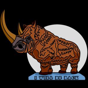 Wolliges Nashorn