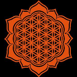 Blume des Lebens, Lotus, 23 Motiv Farben, Yoga, Om