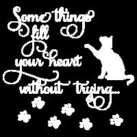 Katzen füllen Ihr Herz-Shirt