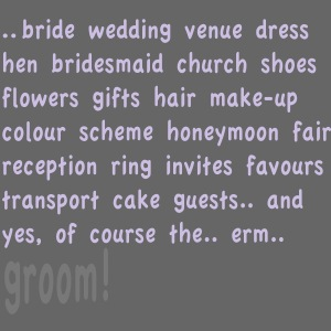 Bridal thoughts