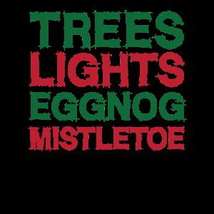Distressed - Bäume und Lichter und Eierlikör und