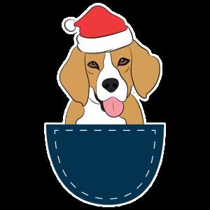 Lustige Beagle-Weihnachtsgeschenk-Idee für Beagle-Liebhaber