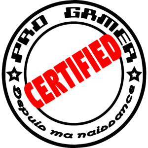 Pro Gamer zertifiziert
