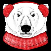 Eisbär Winter Arktis
