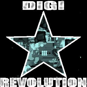 Digi Revolution , Internet www digitale Welt stern