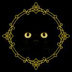 Badge Chat Noir - Pixel Art