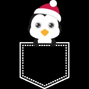 Pocket Penguin - Taschentier Pinguin XMas