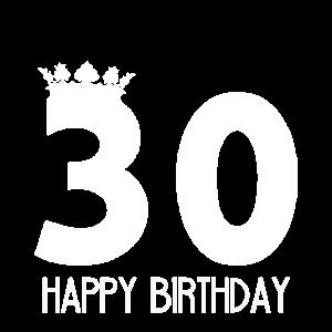 30er Geburtstag Geschenk Kuchen Feiern