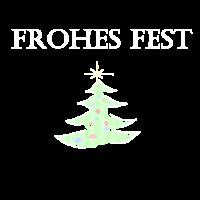 Weihnachtsbaum Frohes Fest