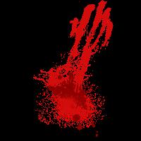 Blutspritzer Horror Zombies Geschenkidee für Gamer