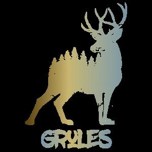 Hirsch - Deer Grules Design