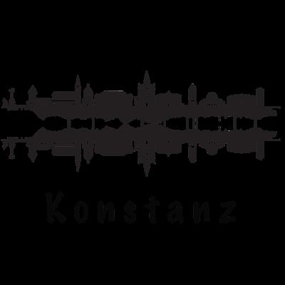 Konstanz Skyline -  - Weihnachten,Universität Konstanz,Skyline,PickUp Line,Party,Konstanzer,Konstanz,Geschenkidee,Geschenk,Geburtstag,Constancia