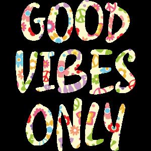 Hippie Promotion Positive Vibes Cooles Geschenk