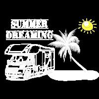 Caravan Wohnmobil Sommer Geschenk Freiheit Urlaub