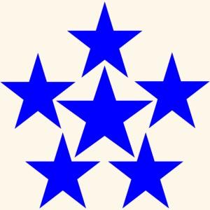 5 STAR blau