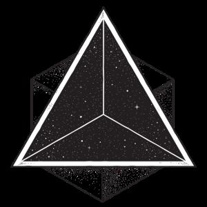 Cool Hipster Geometrie Formen Dreieck Geschenk