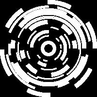 Sci Fi Kreis Formen Tech Geschenk