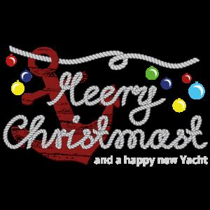 Anker Meery Christmast Seil Schrift