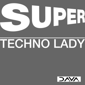 Techno Lady - white