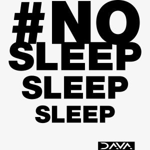 No sleep - black