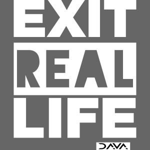 Exit REAL LIFE - white