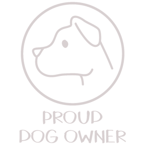 Stolzer Hunde Besitzer