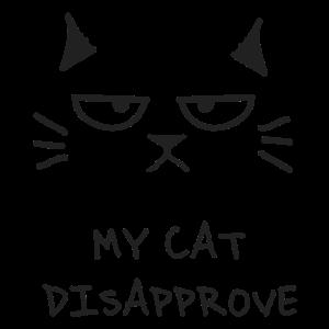 Katze verschwindet