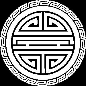 Shou Symbol Glücksbringer