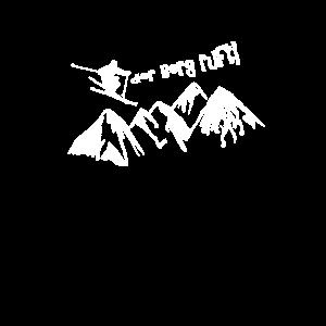 Ski fahren Winterurlaub Geschenkidee