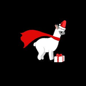 Weihnachts Alpaka