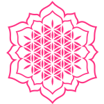 Blume des Lebens - Lotus - Energie Symbol