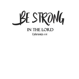Stark in Jesus und im Glauben Christliches Tshirt