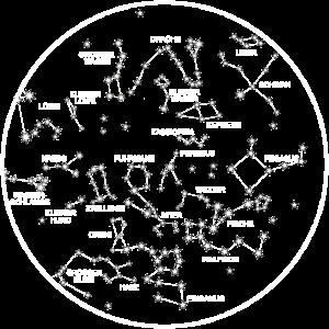 Winter Sternenhimmel, Sternenkarte, Astronomie