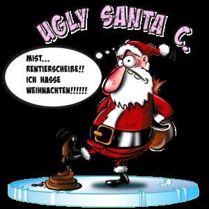 Weihnachten, böser Weihnachtsmann