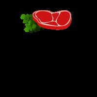 Beef lustiges Motiv Weiss