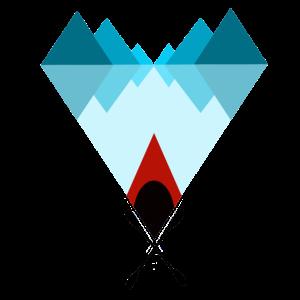 Kanu Kajak Fjord Berge I Geschenk Souvenir