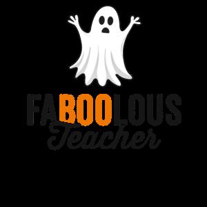 Fabelhaftes (fabelhaftes) Lehrer-Halloween-Shirt