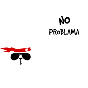 No Problama Lama weiss