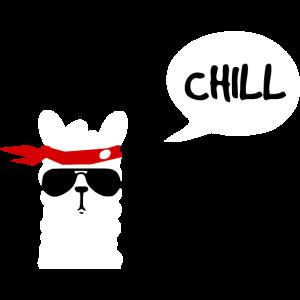Chill Lama weiss