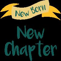 New Born New Chapter Schwanger Geburtsgeschenk