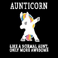 Aunticorn Einhorn Tante