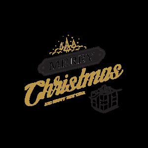 Becher der frohen Weihnachten