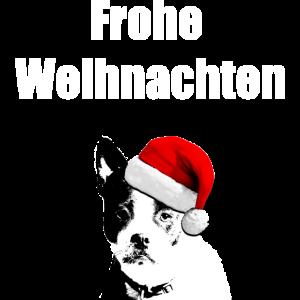 Hund Christmas Weihnachten Frohe Weihnachten